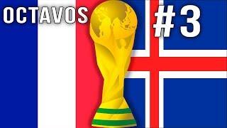 FIFA 18 Octavos Islandia vs Francia