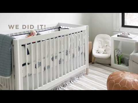 Baby Schmieder Nursery Update: The Crib is Here!