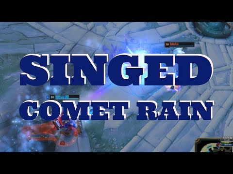 Singed Arcane Comet Rain (glitch?)