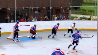 Prachatice - Betonova Holubov 2:3p. , 2.finále 2014-15 (zákroky Františka Daška)