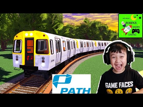 Johny Shows Joe's Subway Trials Roblox Train Game Path & Redbird