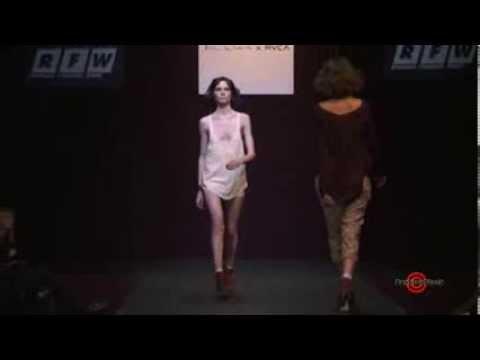 Erin Wasson - Russian Fashion Week 2010 - Runway Show