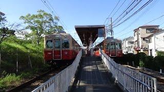 阪神武庫川線の早朝~武庫川・東鳴尾~