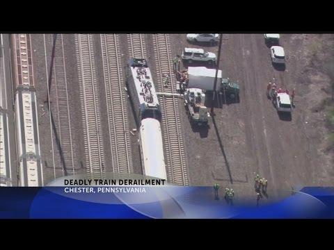 Deadly train derailment in Pennsylvania