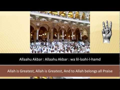 Translation of Eid Takbeer