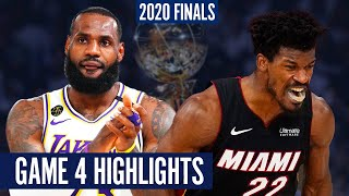 HEAT vs LAKERS GAME 4 - Full Highlights | 2020 NBA Finals