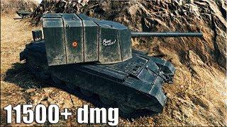 Колобанов на БАБАХЕ FV4005 Stage II 🌟 11500+ dmg 🌟 World of Tanks лучший бой на пт 10 уровня
