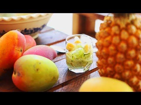 chè-revisité-mangue-ananas---dessert-vietnamien