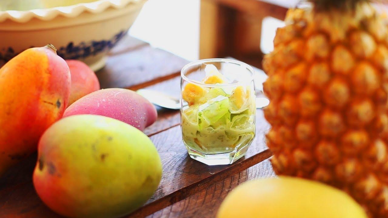 Chè revisité mangue ananas - Dessert vietnamien