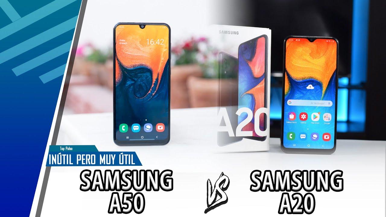 Download Samsung A50 VS Samsung A20 | Enfrentamiento Inútil Pero Muy Útil | Top Pulso