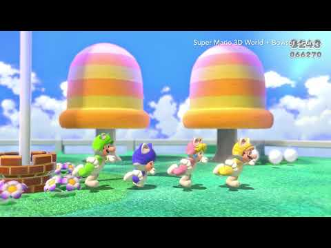 Super Mario 3D World + Bowser's Fury - Overview Trailer (Nintendo Switch)