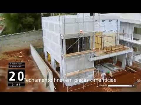 Casa Ecológica Pré Fabricada: construção rápida