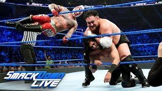 AJ Styles vs. Rey Mysterio vs. Mustafa Ali vs. Randy Orton vs. Samoa Joe - Winner faces WWE Champi..
