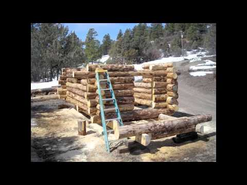 The fastest way to build a small cabin youtube for How to build a cabin floor