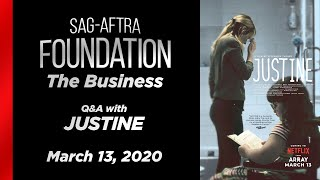 The Business: Q&A with JUSTINE