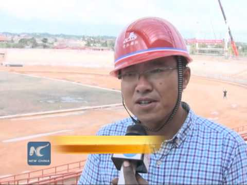 Chinese company sets to complete stadium construction in Ghana on schedule