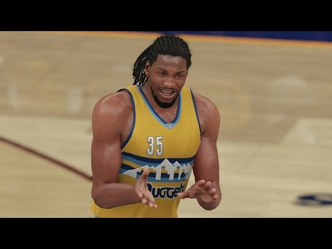 NBA 2K16 PS4 Play Now – LeBron Commits Flagrant vs Nuggets!