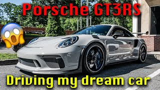 Driving and Launching my dream car | Porsche 911 Gt3rs 991.2
