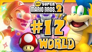 New Super Mario Bros. 2 - Mushroom World (2 Player) 100%