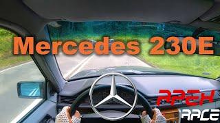Mercedes Benz 230E W124 | POV | Test Drive | 4K