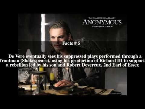 Anonymous (film) Top # 8 Facts