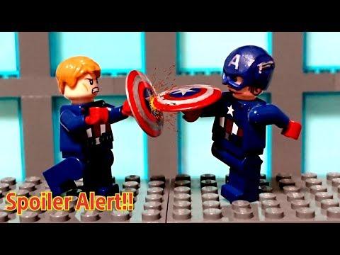 """Avengers Endgame in lego #10 """"Captain America vs Captain America """""""