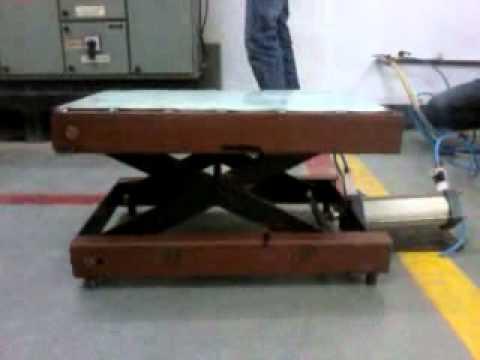 Pneumatic Lift Table Design pneumatic scissor lift tables project by sagarnikunjmahendrarohit youtube Pneumatic Scissor Lift Tables Project By Sagarnikunjmahendrarohit Youtube