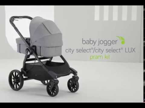 Assembling The City Select Lux Pram Kit Youtube