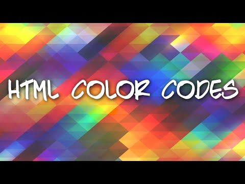How To Find The HTML Code For A Color