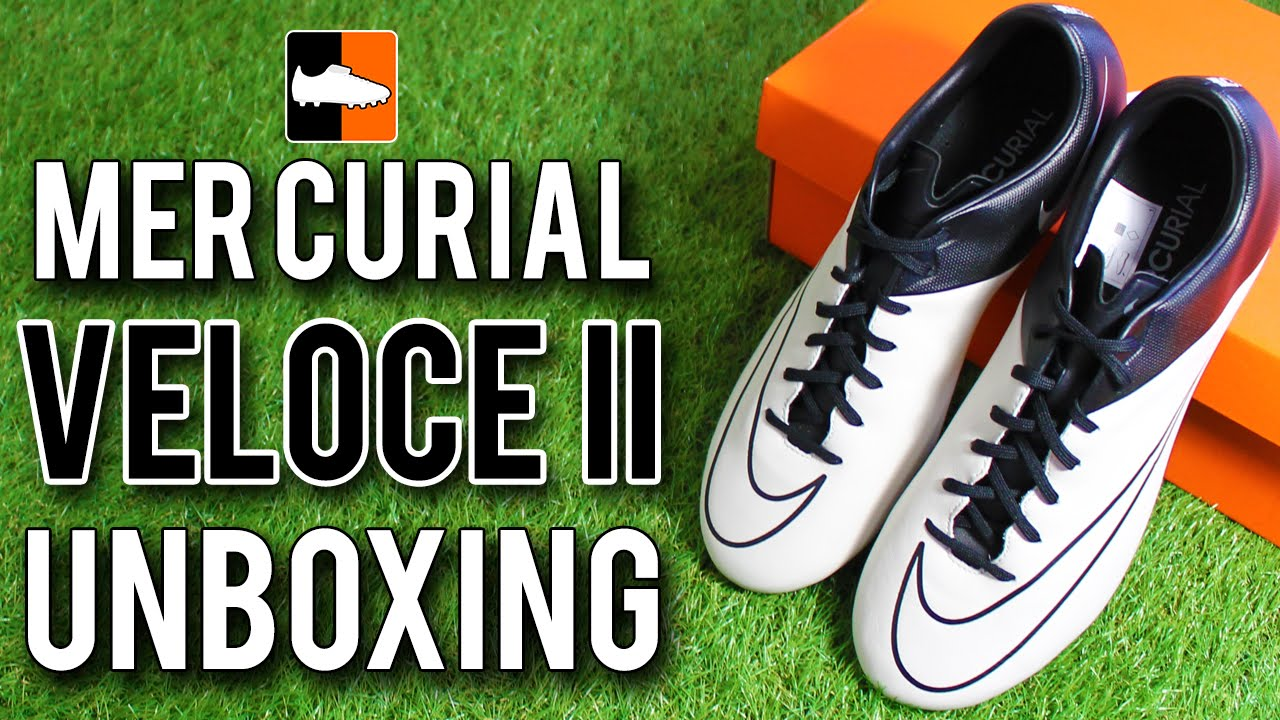 Nike Mercurial Veloce II Unboxing | Leather Tech Craft Football Boots