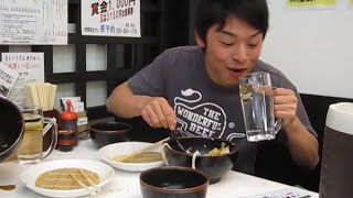 4分28秒 山田斉 (筑波大学 卓球部) 早食い メガ盛り 1キロカレー(...
