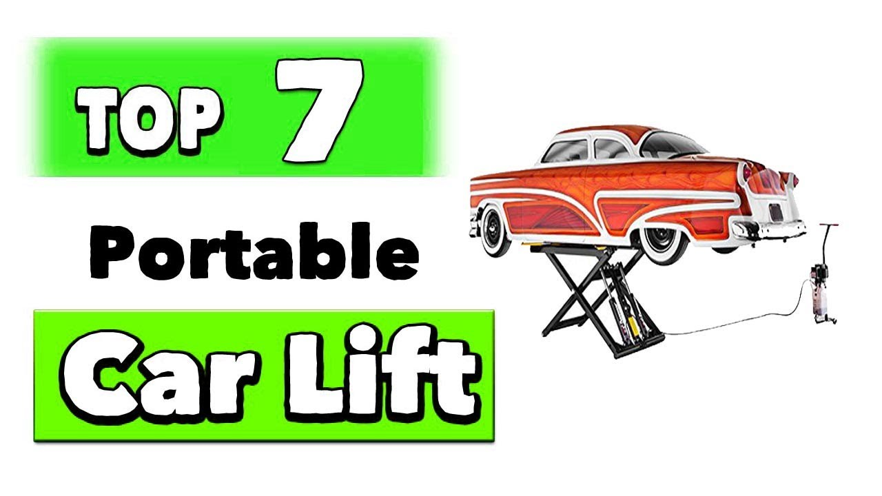 Best Portable Car Lifts for Home Garage - YouTube