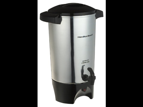 hamilton beach coffee urn manual
