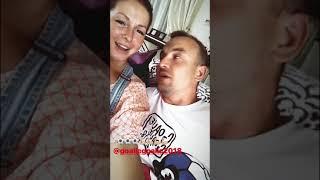 Нюша с мужем болеют за сборную России по футболу (InstaStories, 01.07.18)