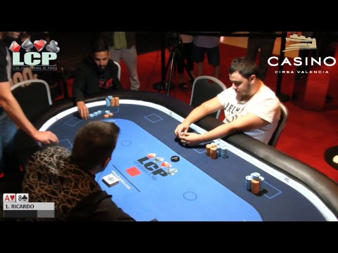 Main Event De La LCP Casino Cirsa Valencia Mesa Final
