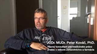 e-medius : JUDr. MUDr. Peter Kováč, PhD. - Trestnoprávna zodpovednosť zdravotníckeho pracovníka