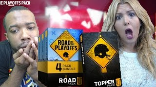 Girlfriend BoyFriend Road To PlayOffs Elite PULL Bundle Challenge! Madden 16 MUT Packs!
