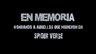 Spider-Verse Requiem (Todas las Muertes)