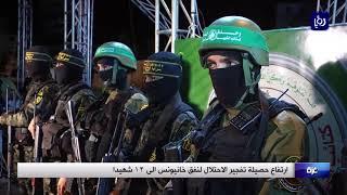 ارتفاع حصيلة تفجير الاحتلال لنفق خانيونس الى ١٢ شهيدا - (3-11-2017)
