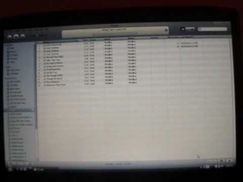how to put itunes songs onto a blank cd