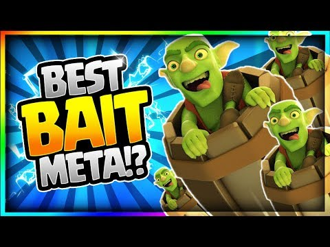 ULTIMATE BAIT DECK after UPDATE!! Undefeated Ladder Push - Clash Royale New Update Gameplay