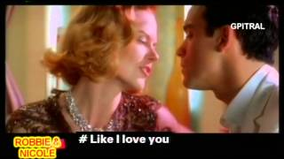 Robbie Williams Nicole Kidman Something Stupid Lyrics