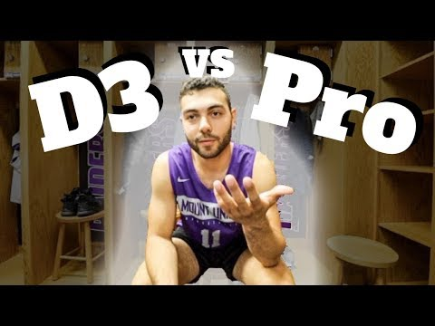 Can You Play Professional Basketball After Being A D3 College Player?