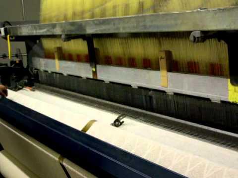 Scottish Lace Curtain Machine - Nottingham Lace