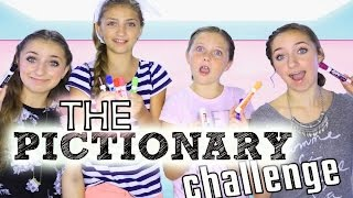 The Pictionary Challenge | Brooklyn and Bailey