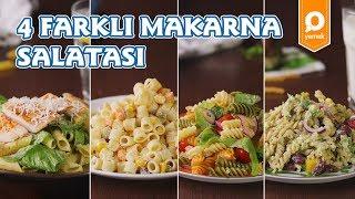 4 Farklı Makarna Salatası - Tek Malzeme Çok Tarif