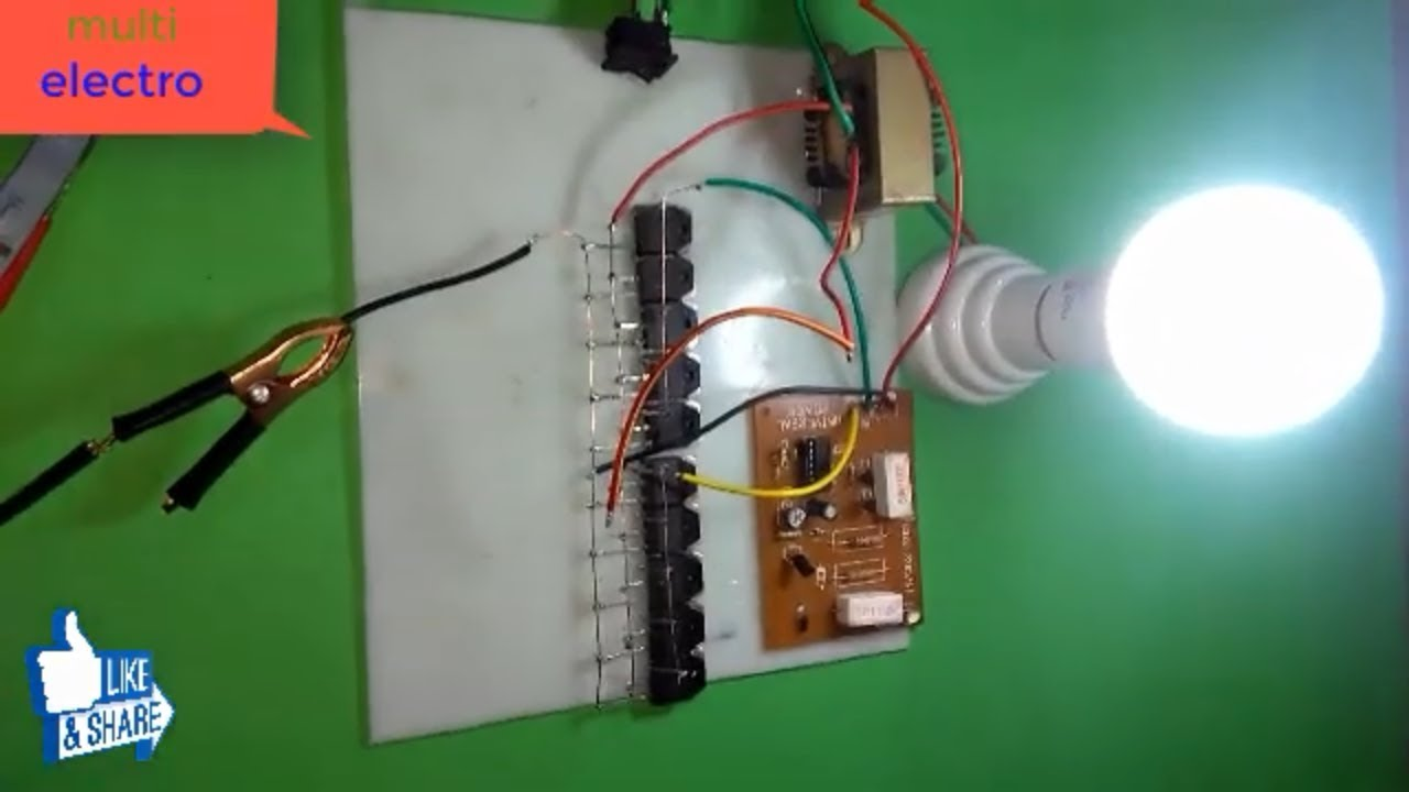 how to make inverter dc 12 volt to ac 220 volt diy at home wiringhow to [ 1280 x 720 Pixel ]