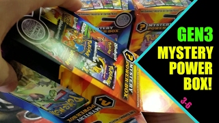 COOL NEW GENERATION 3 - MYSTERY POWER BOX OPENING 3-6 POKEMON UNWRAPPED