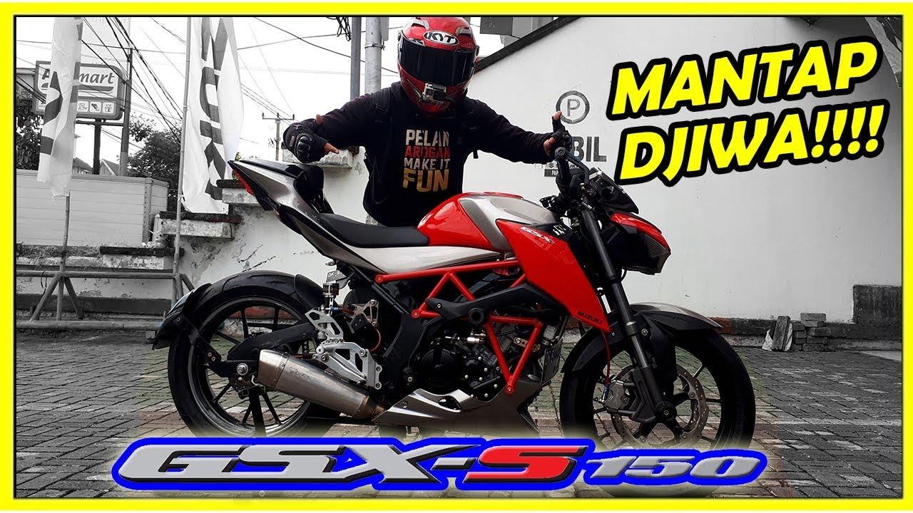 Suzuki Gsx S 150 Modifikasi Keren Motovlog 58 Youtube