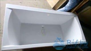 Ванна акриловая Riho Lusso 190x90(Прямоугольная акриловая ванна Ванна акриловая Riho Lusso 190x90: http://rif.by/products/vanna-akrilovaya-riho-lusso-190x90 Высококачественн..., 2016-04-11T17:46:57.000Z)